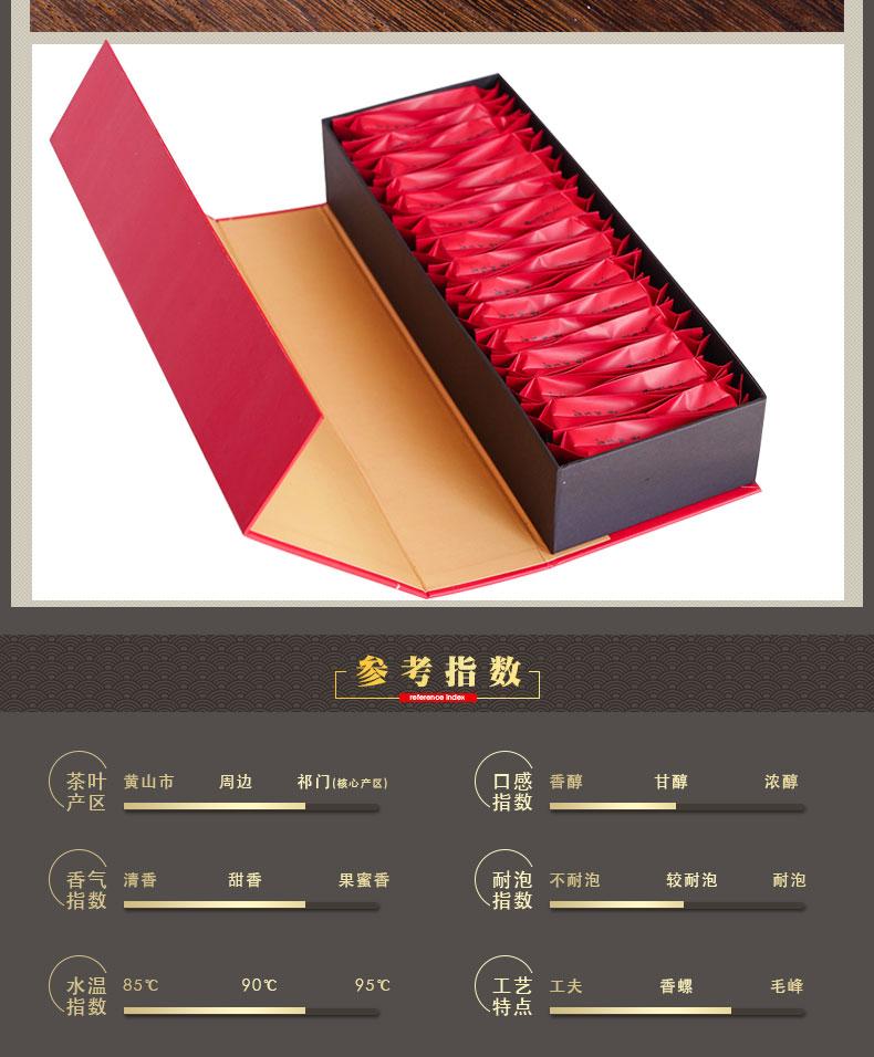 祁门红茶包装盒设计模版