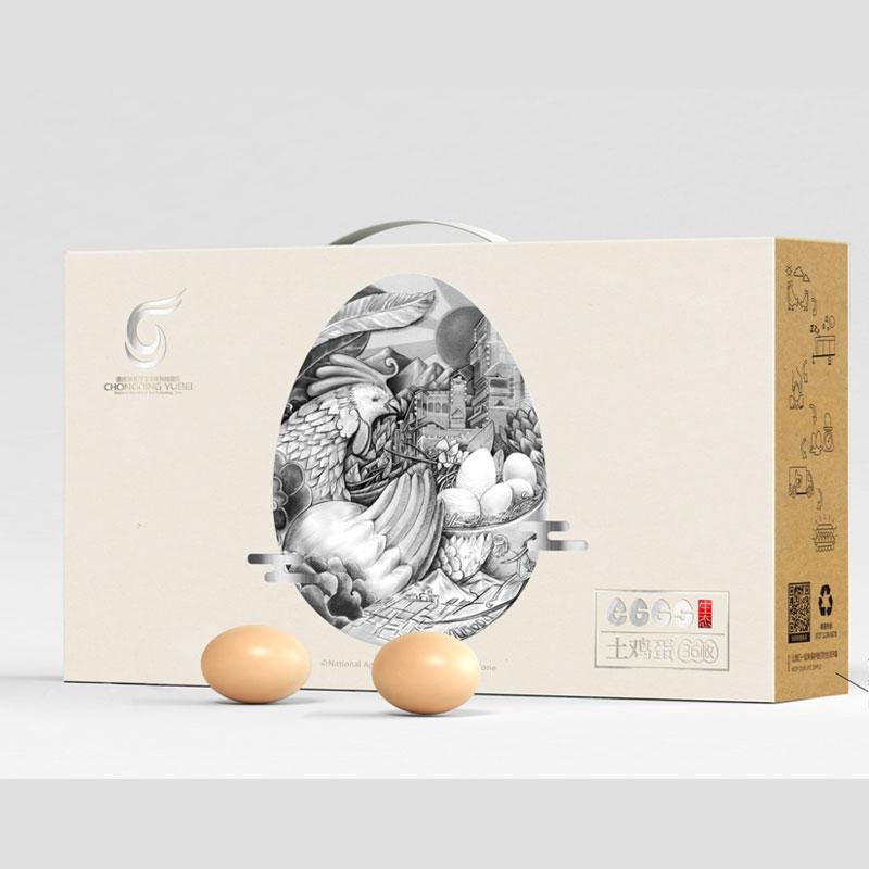 鸡蛋包装盒图片